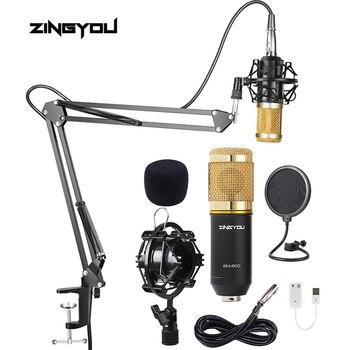 bm 800 studio microphone professional cardioid studio vocal recording podaster karaoke mic kit bm800 condenser microphone top quality ksm8 professional karaoke dynamic super kidney vocal wired microphone microfone microfono microphone