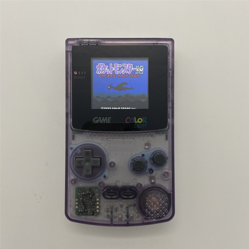 cheapest GBC with new shell and high brightness LCD Professionally Refurbished For Game Boy COLOR