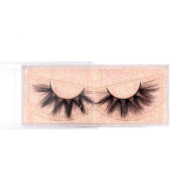 Makeup Mink Eyelashes 100% Cruelty free Handmade 3D Mink Lashes Fluffy Full Strip Lashes Soft False Eyelashes Makeup Lashes 6