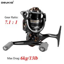 7.1:1 High Speed Ratio Spinning Reel Squid Fishing Reel Metal Body Spool Left Right Handle Fishing Spinning Wheel 5+1BB лопата штыковая finland с цельнометалическим черенком 19 х 28 х 124 см