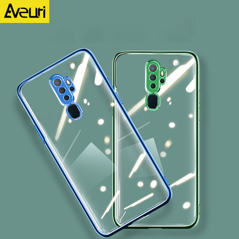 Transparent <font><b>TPU</b></font> Phone Case For <font><b>OPPO</b></font> A5 A9 2020 <font><b>Reno</b></font> 2 2Z 3 4 Pro Find X2 Lite Neo Realme 5i 6i 5 X50 Pro A91 A92S Cover Coque image