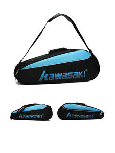 Badminton Racket Backpack Training-Bag Tennis Kawasaki Shouders Portable One Large-Capacity