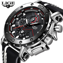 Fashion Watches Men LIGE Top Brand Sport Watches Men's Quartz Clock Man Casual Military Waterproof Wrist Watch Relogio Masculino цена и фото