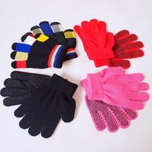 Пара высококачественных детских конных перчаток, удобные нескользящие теплые волшебные перчатки, детское оборудование для верховой езды