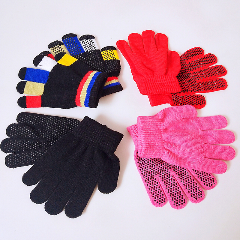 A Pair Of High Quality Children's Equestrian Gloves Comfortable Non-slip Warm Magic Gloves Children Riding Equipment