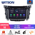WITSON Android 10,0 IPS HD экран для HYUNDAI I30 2012 GPS автомобильный DVD радио 4 Гб RAM + 64 Гб FLASH 8 Octa Core DVR/WIFI + DAB опционально