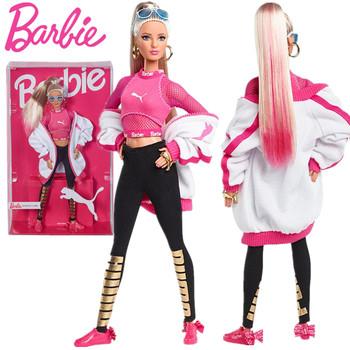 Barbie Puma Doll 2019 50 Rocznica klasyczne zabawki podpis lalki Sport Barbie zabawki dla dziewczynek prezent 22 stawy przenieś zabawki Barbie tanie i dobre opinie CN (pochodzenie) DWF59 Model Film i telewizja FASHION DOLL Keep away from fire 15-30cm EDYCJA LIMITOWANA 1 12 6 lat Z tworzywa sztucznego