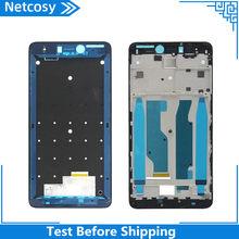 Netcosy para RedMi Note 4x carcasa LCD frontal Marco de placa frontal bisel piezas de repuesto para Redmi Note 4x cambio y reparación