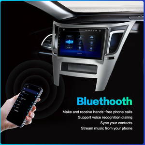 "Image 5 - Dasaita Auto 1 din Radio Android 10,0 TDA7850 für Subaru Legacy Outback 2009 2010 2011 2012 2013 2014 USB MP3 9 ""IPS Touchscreen"