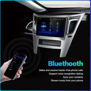 "Image 5 - Dasaita araba 1 din radyo Android 10.0 TDA7850 Subaru Legacy Outback için 2009 2010 2011 2012 2013 2014 USB MP3 9 ""IPS dokunmatik ekran"