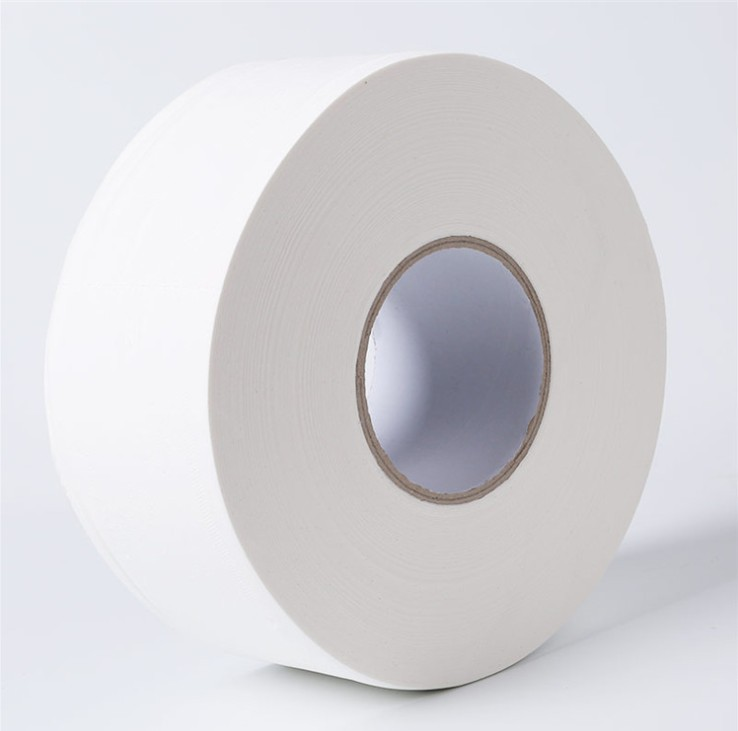 Production Wood Pulp Jumbo Roll Tissue Toilet Paper Towels 12 Volume Large Plate Roll Paper 700G Paper Towel Wholesale Toilet Pa