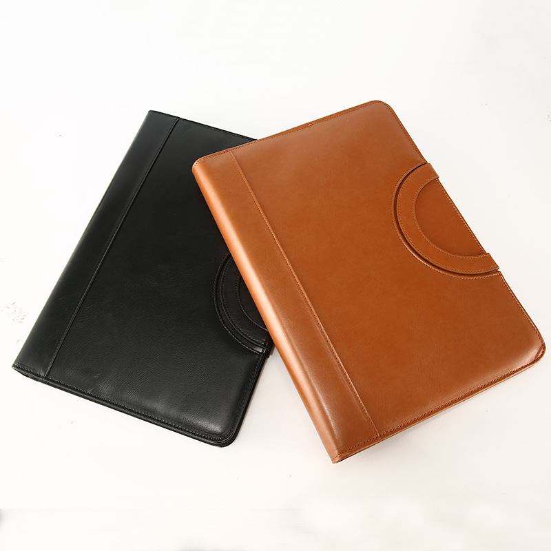 A4 Binder File Folder Ring Padfolio Fichario Portable Manager Bag Office Document Organizer Briefcase Calculator Filing Products