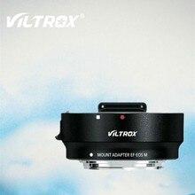 Viltrox EF-EOSM adaptador de lente de foco automático eletrônico para canon eos ef/EF-S lente para eos m EF-M m2 m3 m5 m6 m10 m50 m100 câmera