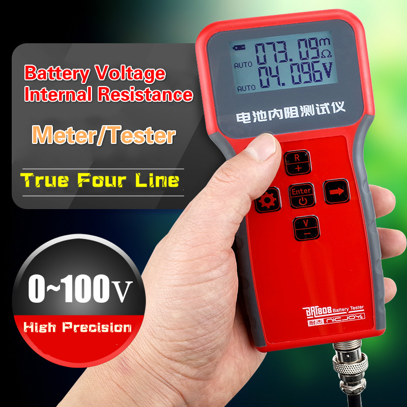 Battery Internal Resistance Tester DIY Lithium Battery High-Precision YR1030 YR1035 Upgrade18650 Battery Testing Combination 4