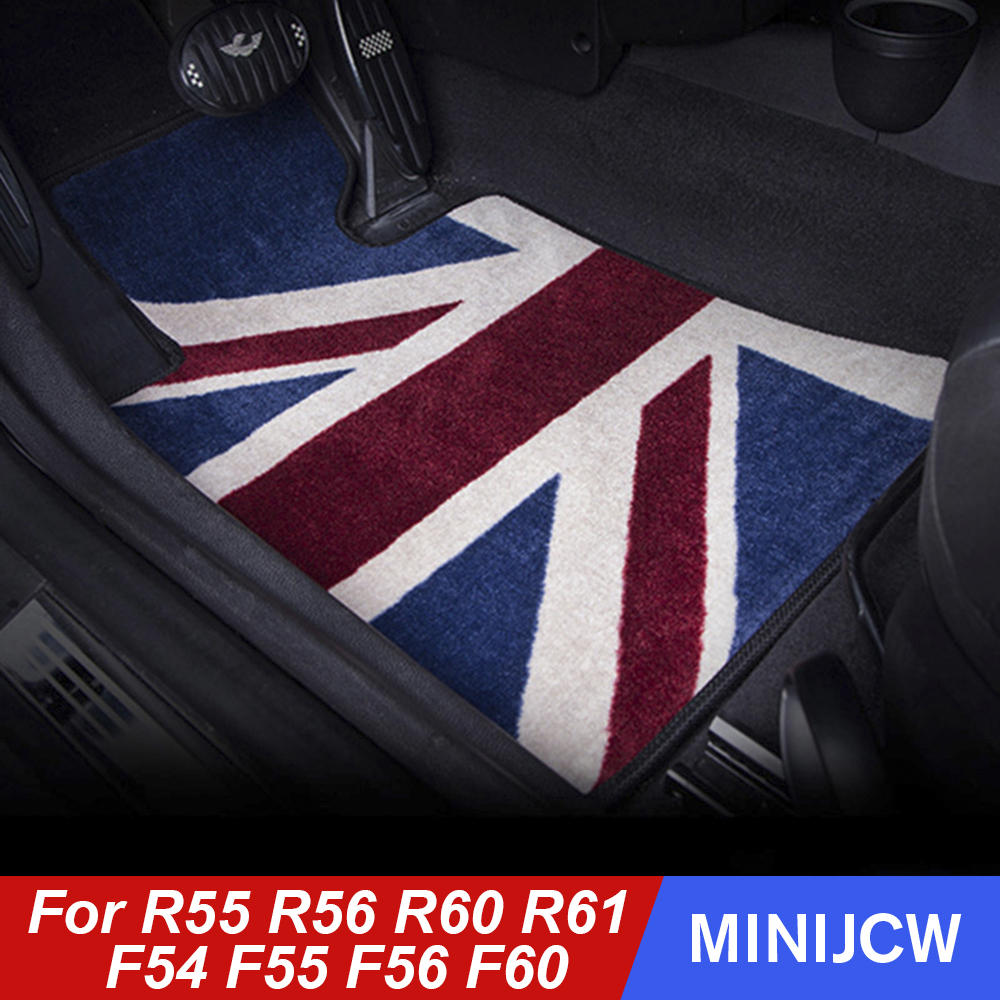 MINI FULLY TAILORED RUBBER CAR FLOOR MATS CUT F56 14 on