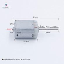 Auto rippen welle Lock Antrieb Motor FC 280PC flache, O Spindel, Power tür Locking Reparatur Motor