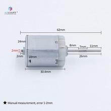자동차 늑골이있는 갱구 자물쇠 액추에이터 모터 FC 280PC 편평한, O 스핀들, 힘 문 잠그는 수선 엔진