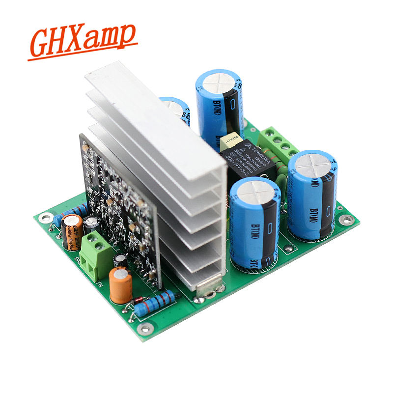 GHXAMP 400W Mono Power Amplifier Board Discrete Component Design Dual 60V