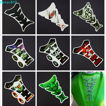 3D Car Motorcycle Gas Fuel Tank Pad Sticker Decals Motorbike Devil Skull Logo Protector Fuel Racing Accessories Universal Fit pazoma motorbike steel green orange gas tank motorcycle fuel tank for simson s50 s51 s70