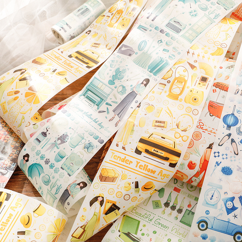 Girl Life Ceremony Series Washi Tape Set Diy Scrapbooking Sticker Label Masking Tape School Office Supply Japanese Stationery