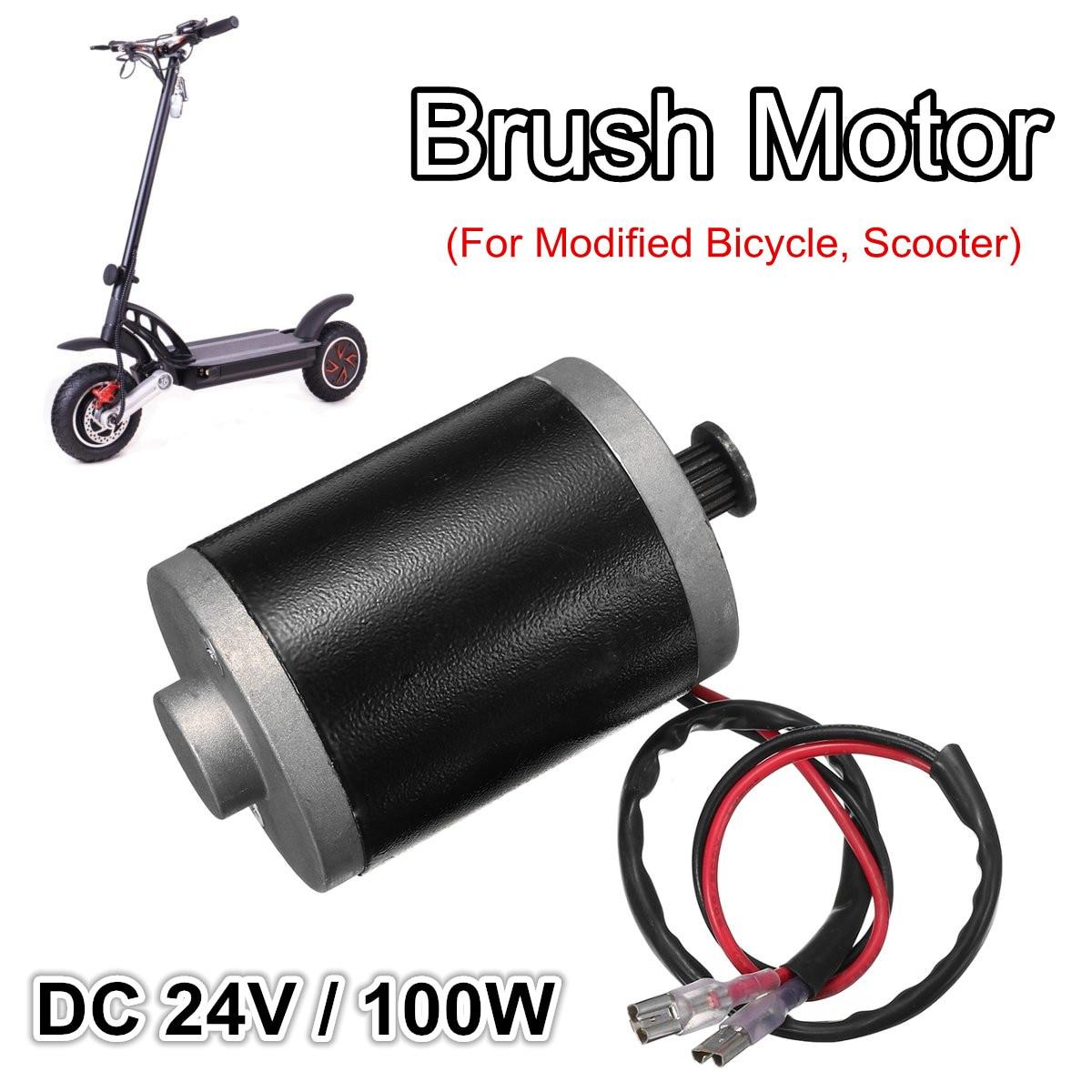 Durable Elektrische Roller Motor 3550RPM Motor Große Drehmoment Getriebe Motor Für Geändert Fahrrad Elektrische Pumpen Spielzeug Generatoren DC 24V