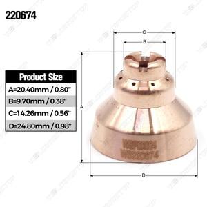 Image 5 - 220674 WSพลาสม่าโล่5ชิ้นโล่ถ้วย45Aไฟฉายตัด