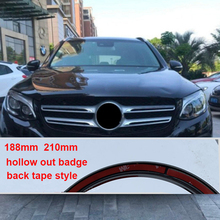 Badge CLA Mercedes-Benz Refitting-Sticker Grille-Star-Logo Front for C200 E300l/A/C/..