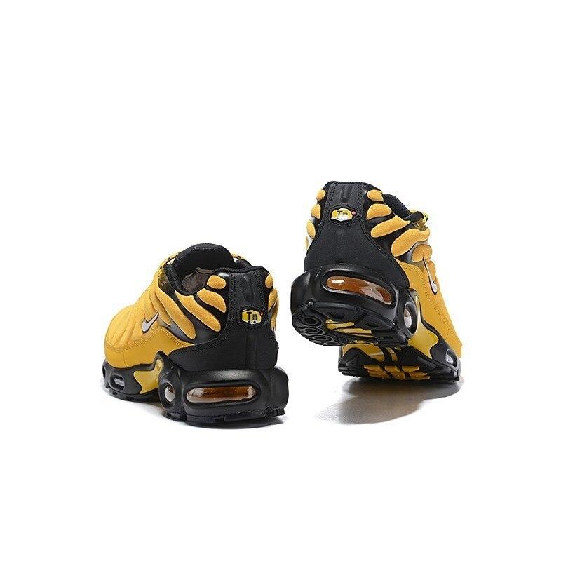 Nike Tn Air Max Plus Frequenza Pack Uomini di Colore Giallo Runningg Scarpe Comodi di Sport Scarpe da Ginnastica Leggere AV7940 700 Originale - 2
