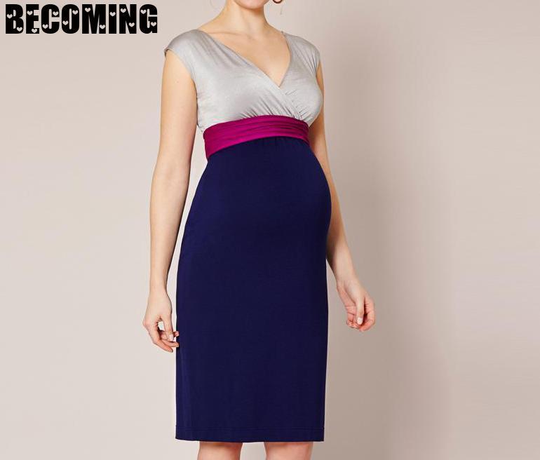 Xxxl Pregnant Dress Sleeve Less V-neck Sexy Pregnant Women Dress Maternity Dresses For Pregnant Ladies Plus Size Bc153