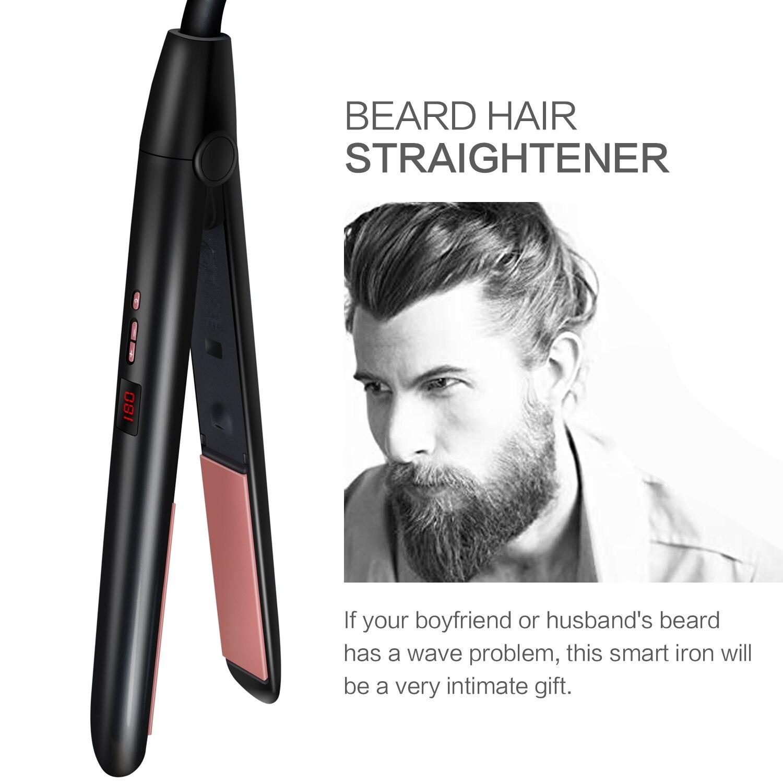 Straightener de cabelo para cabelo liso encaracolado
