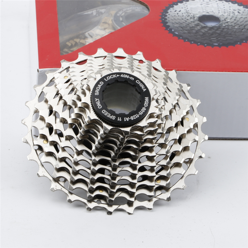 Ultralight Road Bike 11 Speed Cassette 11-28T SLR2 CNC Bike Freewheel 22s Flywheel K7 11V Sprocket For Shimano R9100 SRAM RED