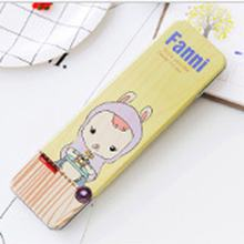 Pen Box Storage Portable School Tin Pencil Case Student Gifts Pen Box Organizer Cute Cartoon Iron Tinplate Study Stationery Case(China)
