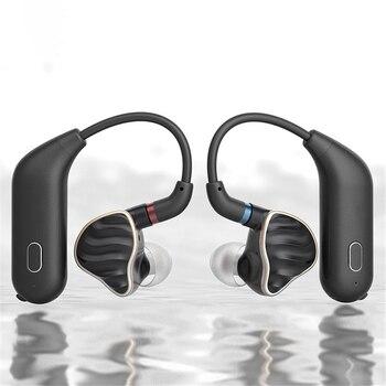 For FiiO UTWS1 MMCX Bluetooth Earphone Adapter Converter Port True Wireless Earbuds Ear Hook Dynamic & Armature Earphone