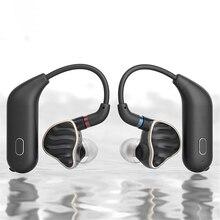 Pour FiiO UTWS1 MMCX Bluetooth adaptateur pour écouteurs convertisseur Port True Wireless écouteurs crochet doreille dynamique & Armature écouteur