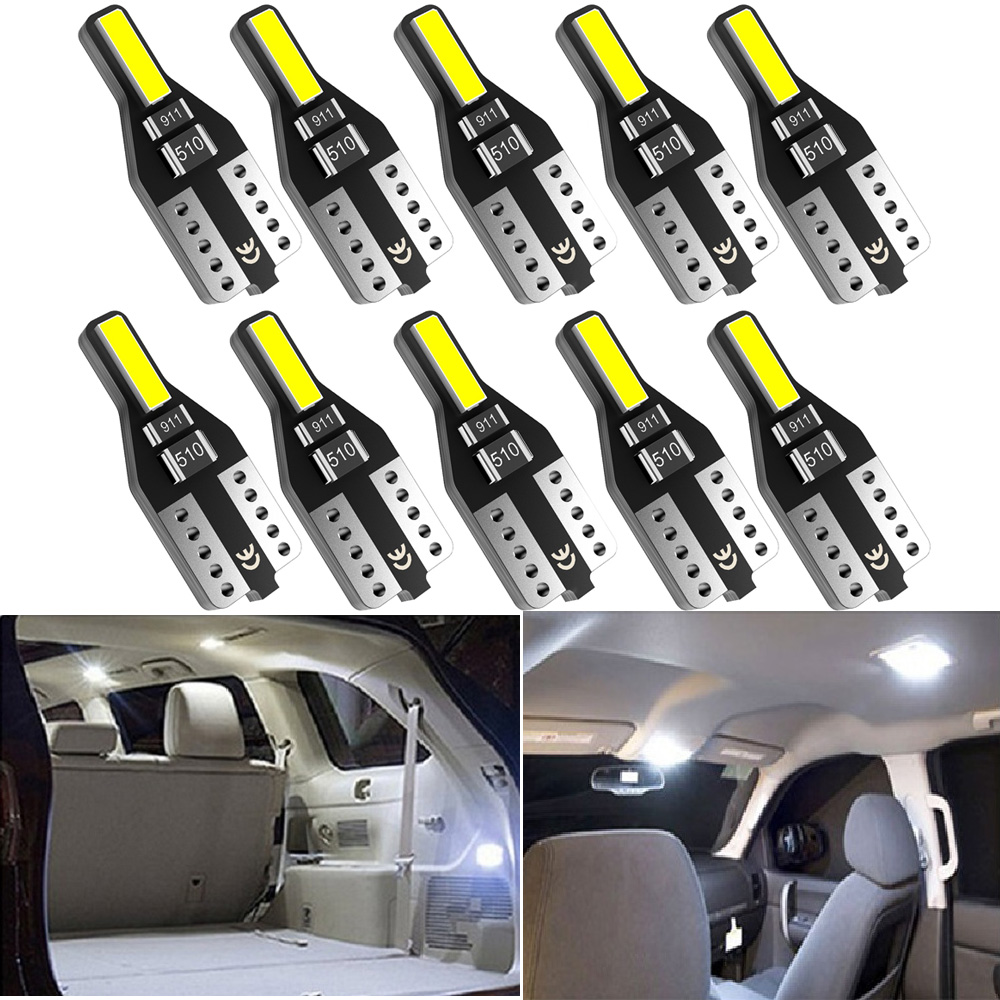 10x T10 <font><b>Led</b></font> W5W 168 <font><b>LED</b></font> Bulb Car Interior Light For <font><b>BMW</b></font> E46 E39 E90 E60 <font><b>E36</b></font> F30 F10 E30 E34 X5 E53 M F20 X3 E87 E70 E92 X1 M3 image