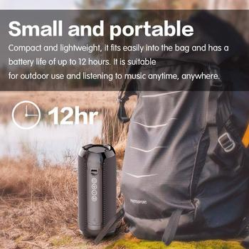 Portable Bluetooth Speaker 20w Wireless Bass Column Waterproof Outdoor Speaker Support AUX TF USB Subwoofer Stereo Loudspeaker 2