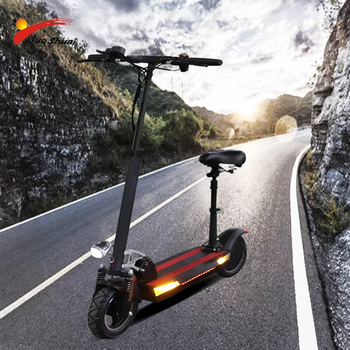 flj newest design foldable electric scooter for adults with 3200w motor wheel electric scooter off road fat tire kick scooter 48V 500W Adult Electric Scooter with Seat Foldable Hoverboard 10inch Tire Electric Kick Scooter E Scooter