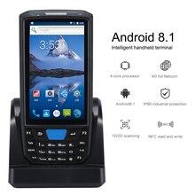 Pdaのアンドロイド携帯端末ハネウェルバーコードスキャナ1dレーザー2d qr端子デバイスwifiと4グラムnfc