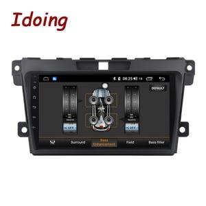 Image 5 - Idoing 2.5d ips tela do carro android rádio leitor de vídeo multimídia para MazdaCX 7 cx 7 cx7 4g + 64g navegação gps não 2 din dvd 4g