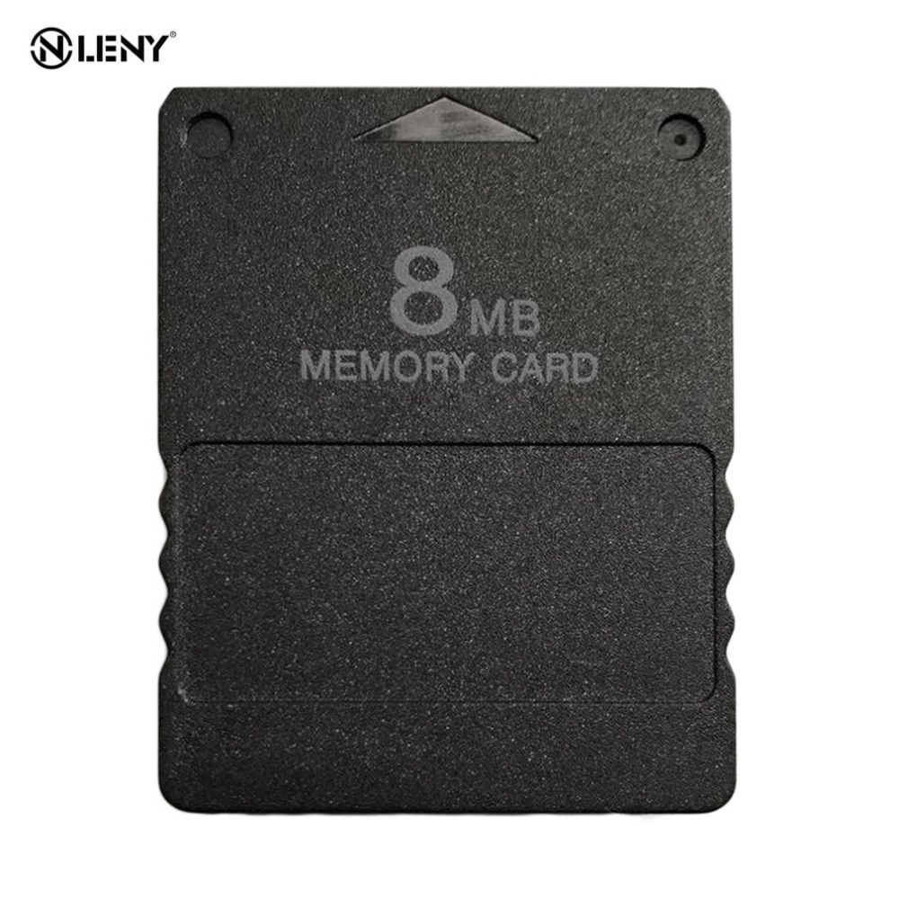 8MB Memory Card Memory Expansion Cards Suitable for Sony Playstation 2 PS2 Black 8MB Memory Card