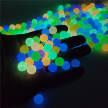 6-8-10-12mm Strong Luminous Beads Glow In The Dark Fishing Loose Spacer Beads for Jewellery Marking DIY Necklace Bracelet