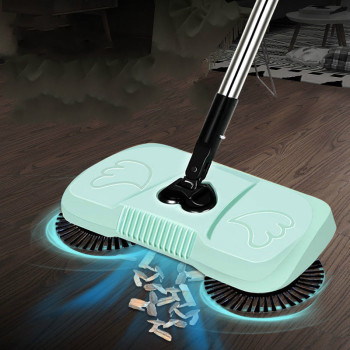 Automatic Broom Do Not Bend Over Elderly Pregnant Woman Cleaning Tools Broom Lazy Invention Patented Product Weeping Robot E1136