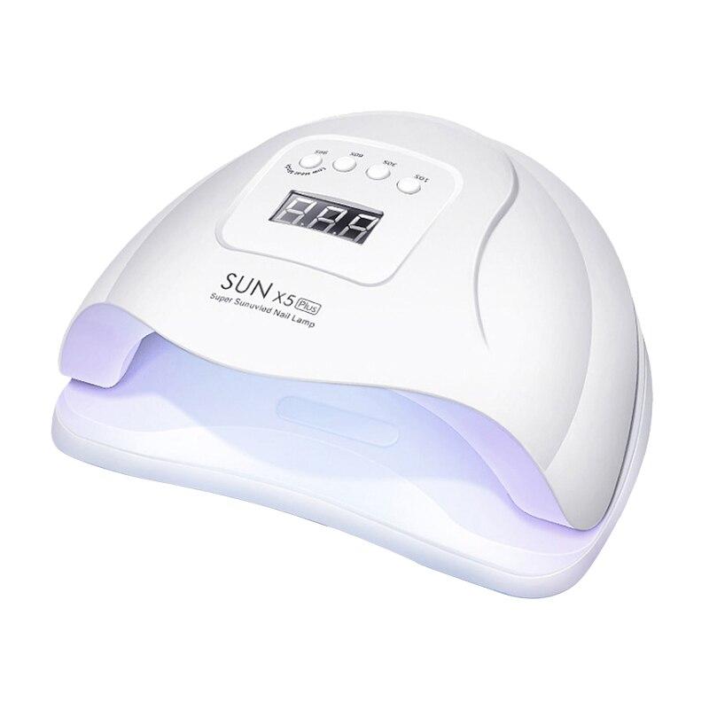 Sèche-ongles avec lampe UV lampe LED pour ongles, pour le durcissement de tous les gels, le vernis à ongles avec capteur de mouvement et outil de Salon de manucure et pédicure