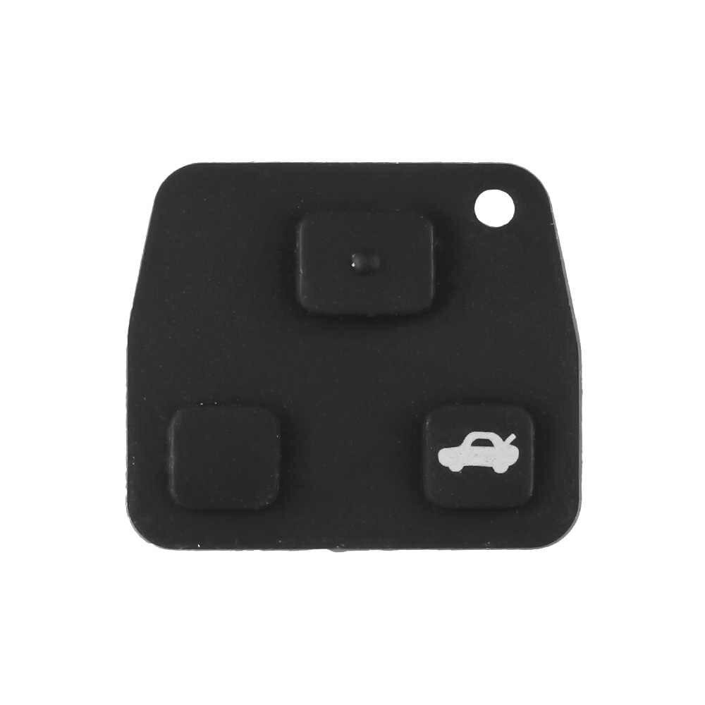 Dandkey 2/3 ปุ่ม REMOTE Key SHELL สำหรับ Toyota Land Cruiser YARIS CAMRY RAV4 Corolla PRADO Lexus RX300 ES300 LS400 GX460