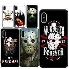 Jason Voorhees Mask Case For Xiaomi Redmi Note 9 7 8 Pro K30 7A 8A 8T 9S Mi 9 10 9T Pro A3 Note10 Mix3 Max3(China)