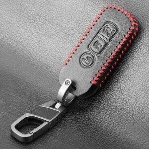 Image 5 - Custodia protettiva In Pelle Caso Chiave Per Honda X ADV SH 300 150 125 Forza 300 125 PCX150 2018 Del Motorino Del Motociclo 2/3 pulsante Smart Chiave