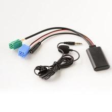 Adaptateur d'appel gratuit pour Renault Megane 2, Bluetooth 5.0, câble de Microphone pour voiture, téléphone portable, mains libres, mise à jour, Radio