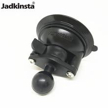 Jadkinsta 8cm Diameter Base Twist Lock Car Window Ball Mount Suction Cup for Gopro Camera Smartphone for Phone 11 12
