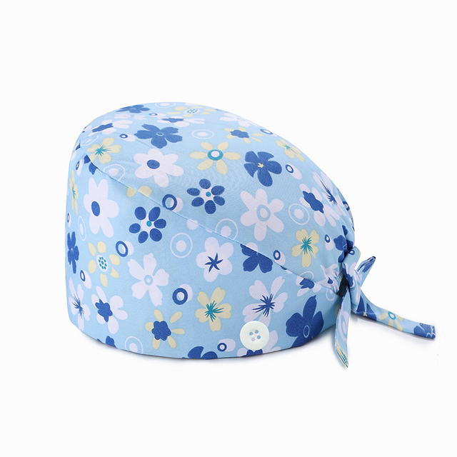 Фото шапка женская с регулируемой кнопкой головной убор для салона цена