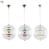 Danish Design Loomoo Verpan Panto Globe Pendant Light Designer Modern Led Hanging Lamp Living Room Cafe Bedroom Studio Luminaire